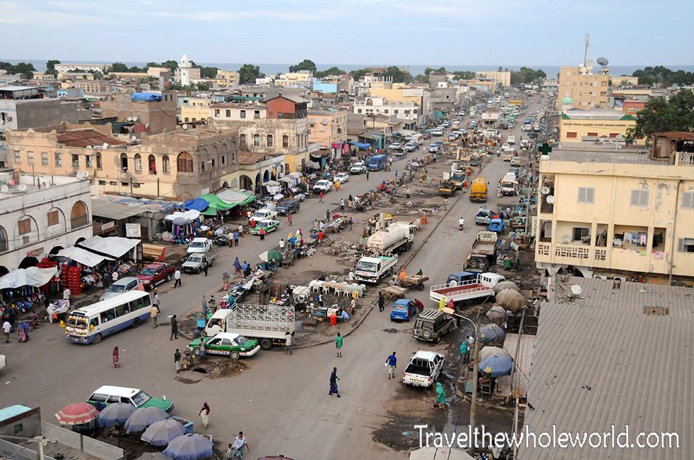 Djibouti City Downtown