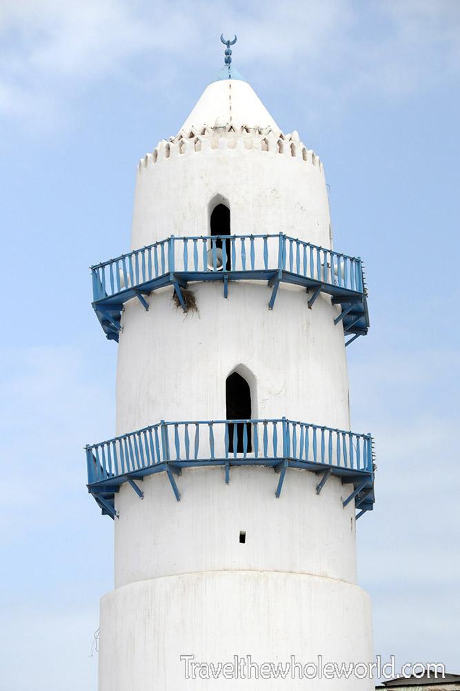 Djibouti City Mosque Minaret
