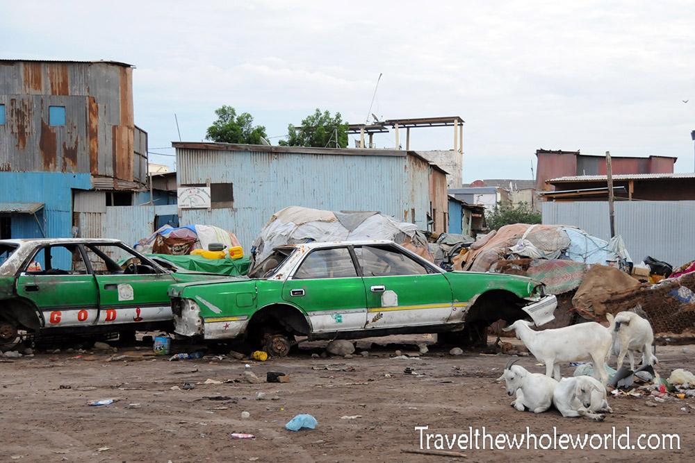 Djibouti City Trash