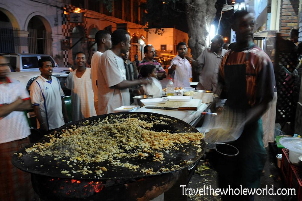 Djibouti City Food Vendor