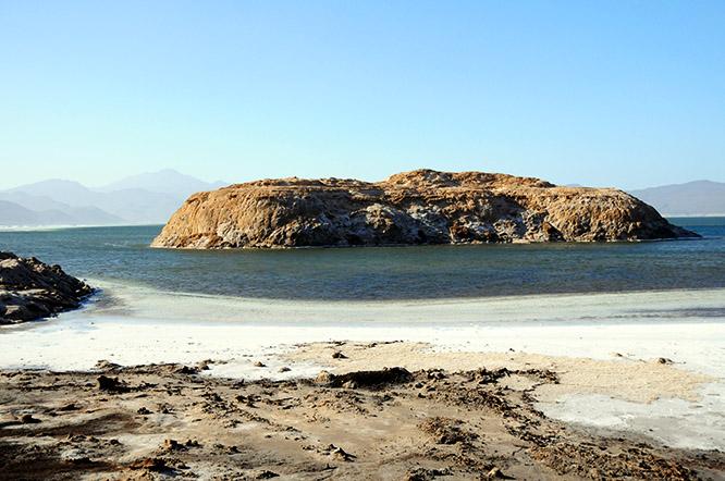Djibouti Lac Assal Island