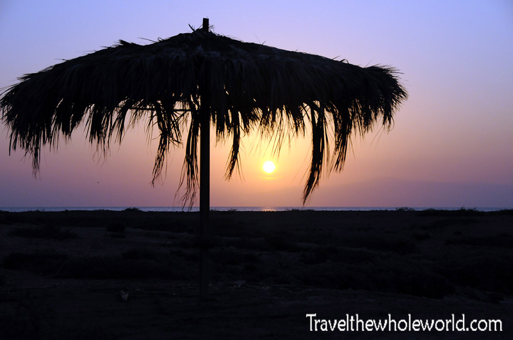 Djibouti Island Sunset
