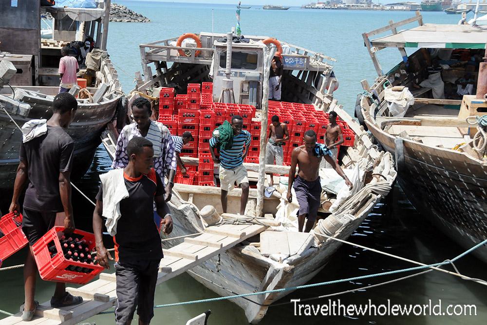 Djibouti Coca Cola Ship