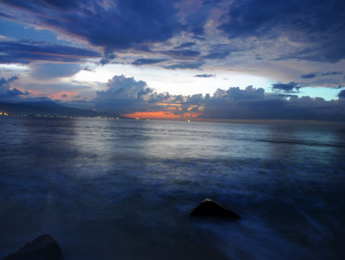 East Timor Dili Coast Night