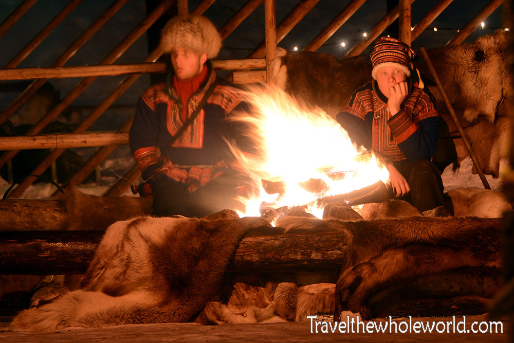 Finland Rovaniemi Santa Claus Village Sami People