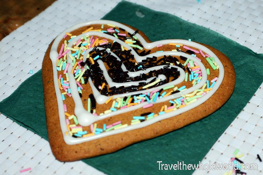 Finland Rovaniemi Santa's Park Gingerbread Cookie