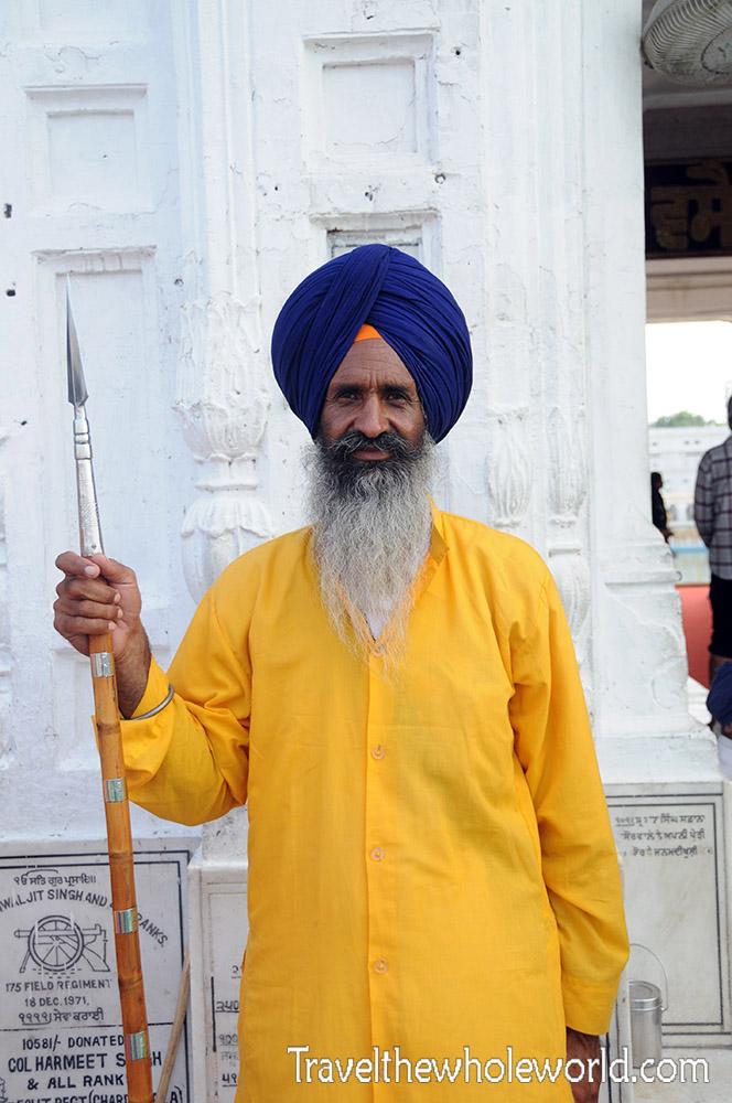 Golden Temple Sikh Guard