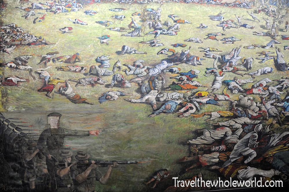 India Amritsar Massacre Painting