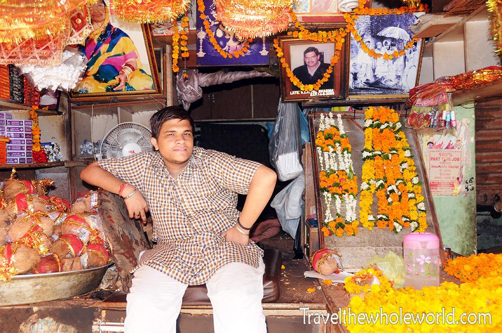India Amritsar Mata Temple Man