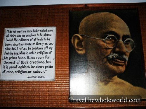 India New Delhi Gandhi Quote
