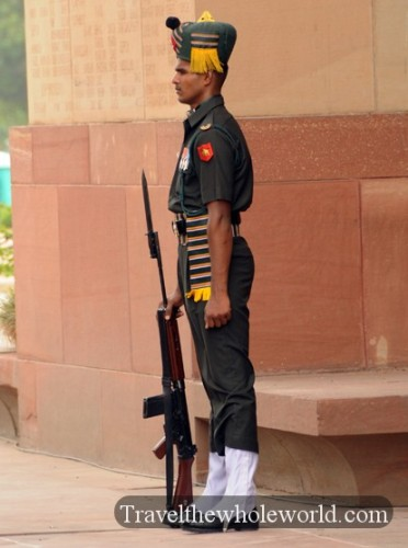 India New Delhi Guard