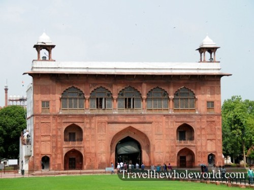 India New Delhi Red Fort Building