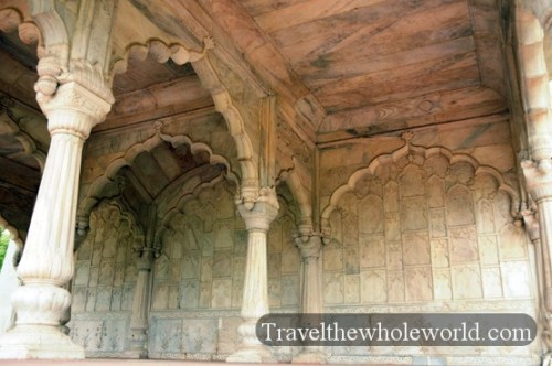 India New Delhi Red Fort Architecture