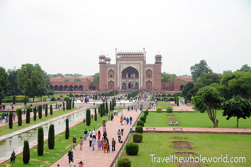 Indian Taj Mahal Entrance