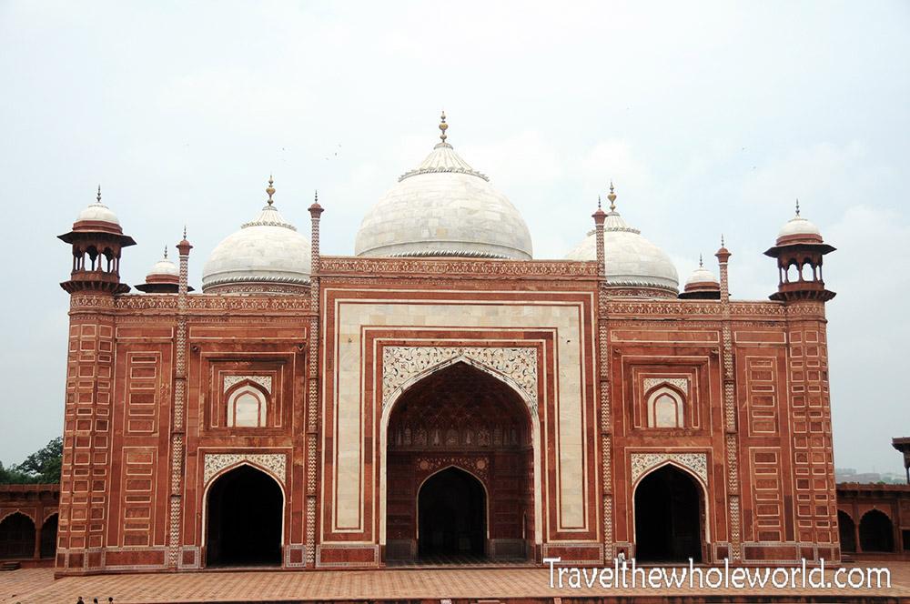 India Taj Mahal Mosque