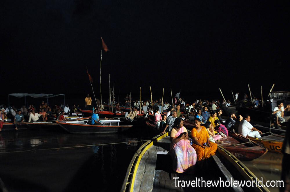 India Varanasi Night