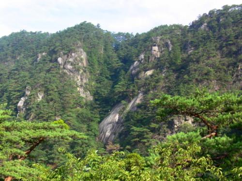 Japan Shosenkyo Mountains