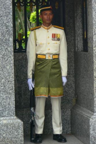 Malaysia Palace Guard