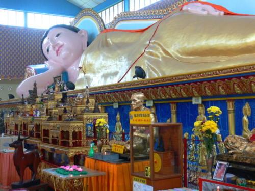 Malaysia Wat Chaiyamangkalaran Bhudda