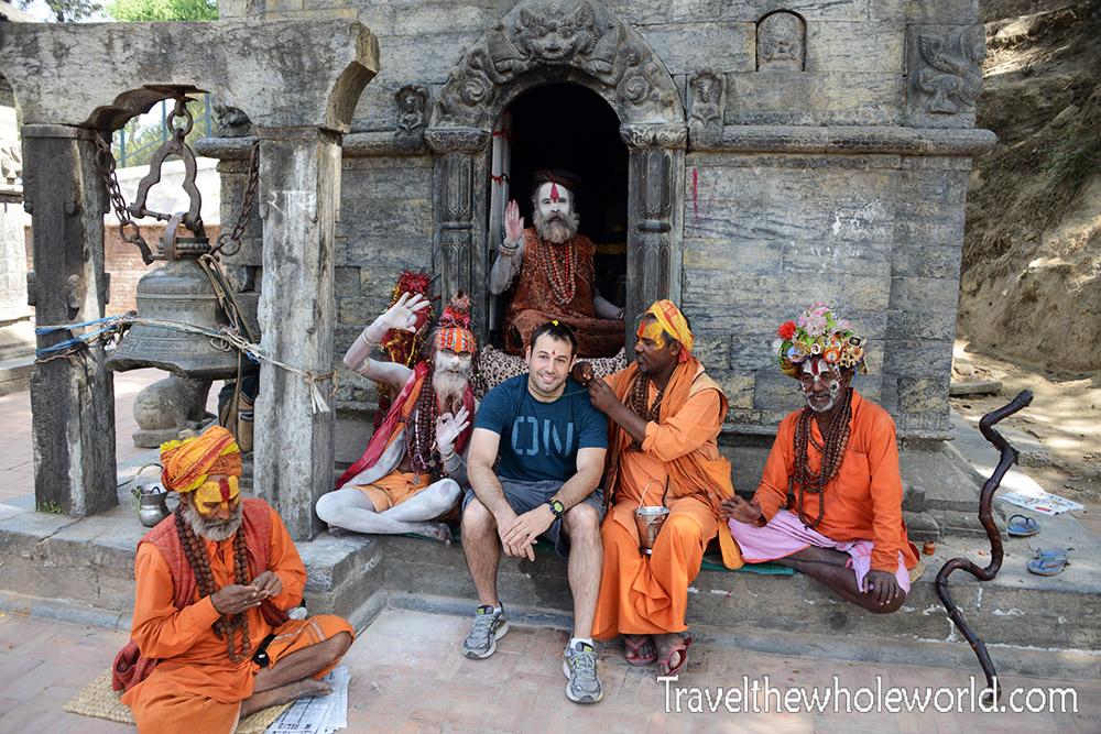 Myself in Nepal