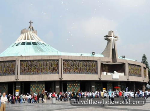 Mexico City Basilica Guadalupe