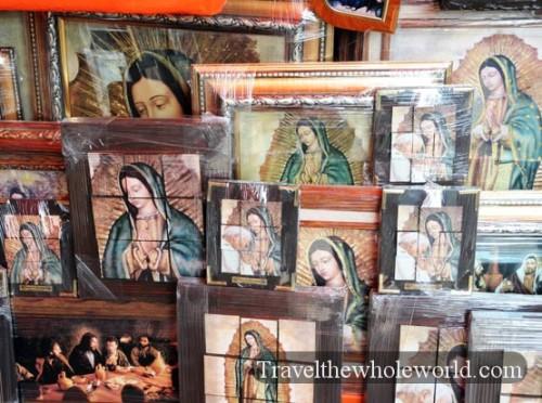 Mexico City Basilica Guadalupe Market