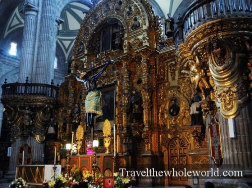Mexico City Cathedral Inside
