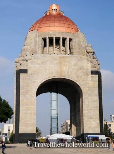 Mexico City Revolution Monument