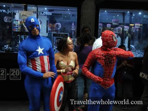 Mexico City Super Heros