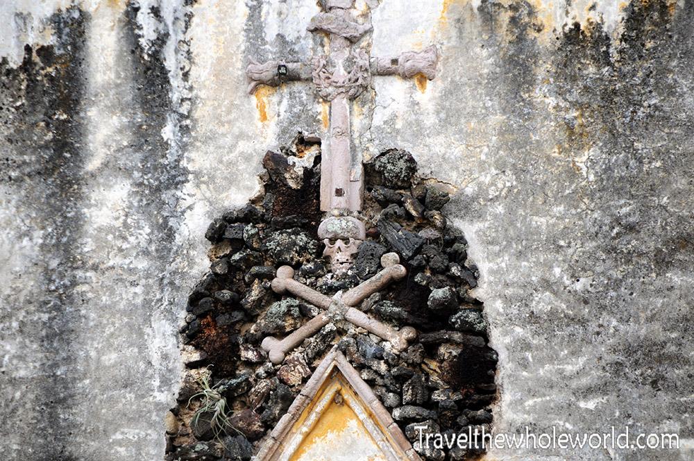 Mexico Cuernavaca Cathedral Bones