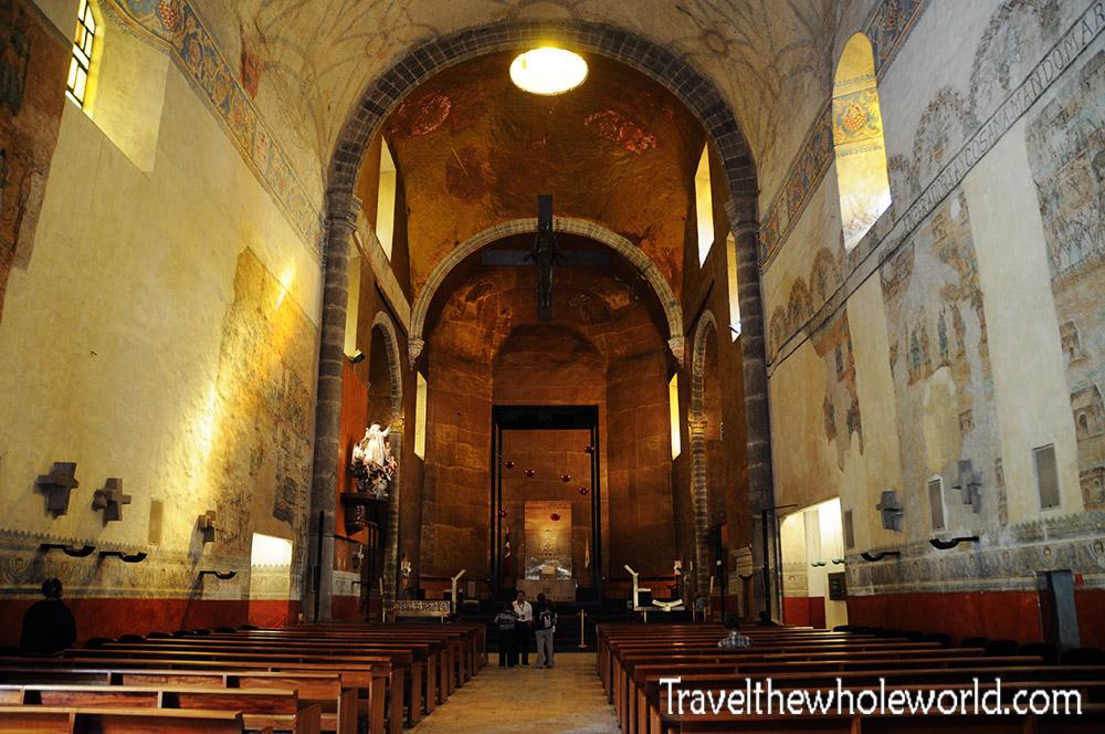 Mexico Cuernavaca Cathedral Inside