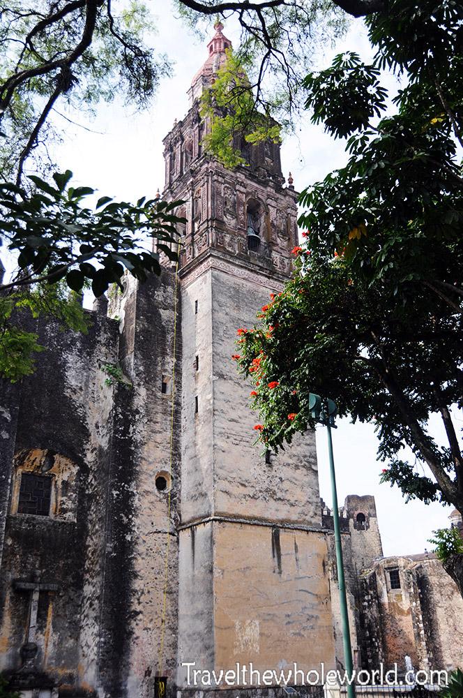 Mexico Cuernavaca Cathedral Tower