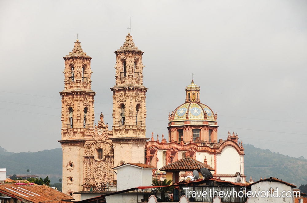 Mexico Taxco Cathedral