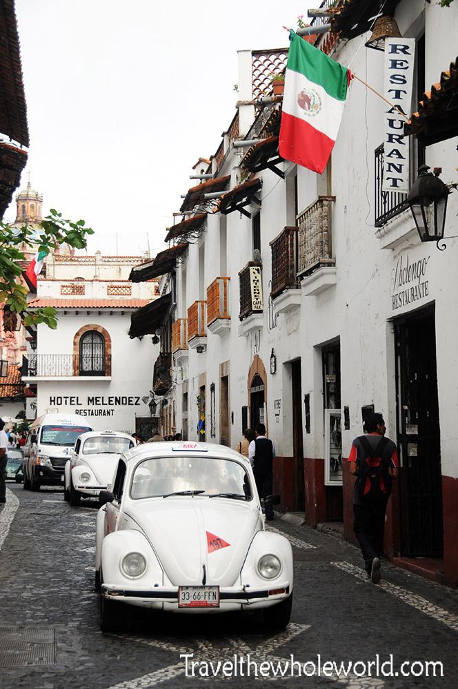 Mexico Taxco Street