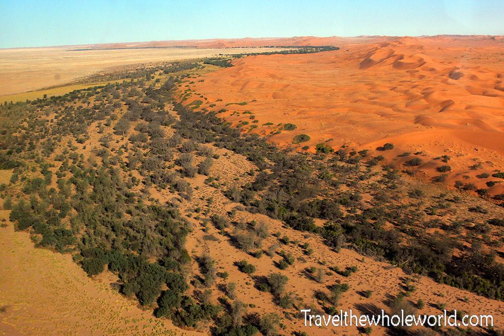 Namibia Desert River Bed