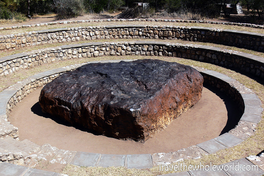 Namibia World's Largest Meteorite