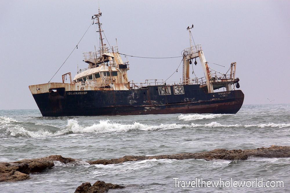 Swakopmund Ship Wreck