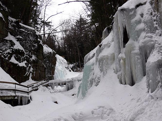 New Hampshire Flume Gorge