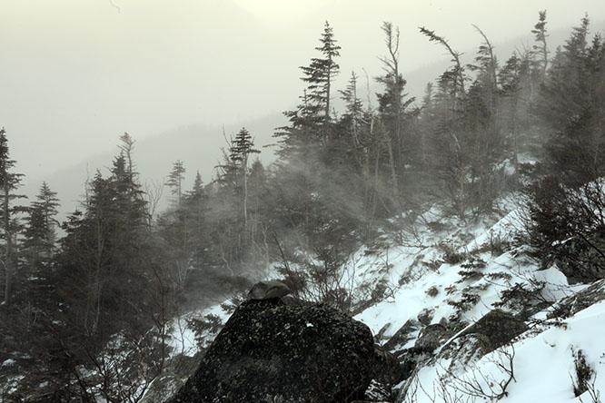 New Hampshire Mt Madison Slopes