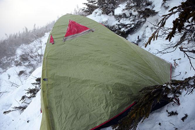 New Hampshire Mt Madison Tent