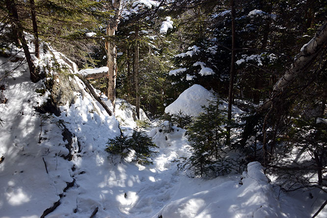 New Hampshire Mt Madison Trail