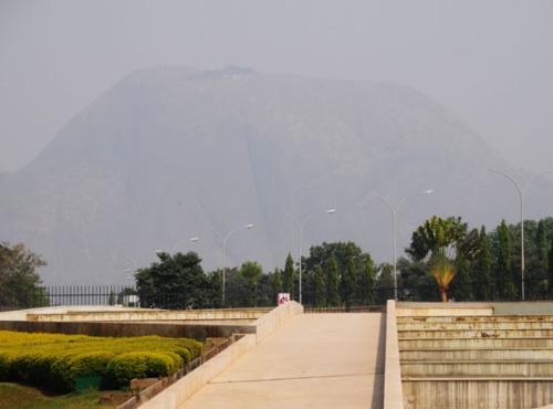 Nigeria Abuja Millenium Park Rock