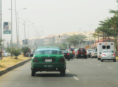Nigeria Abuja Road