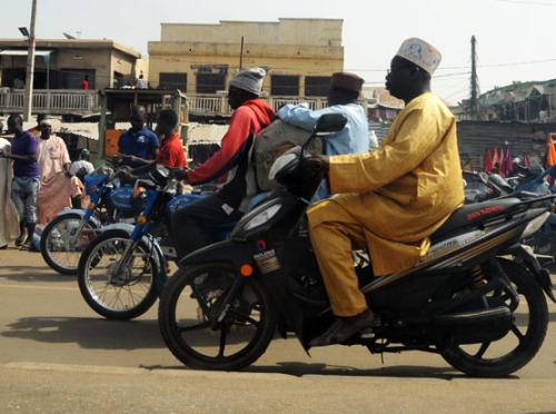 Nigeria-Kano-Motorcycles