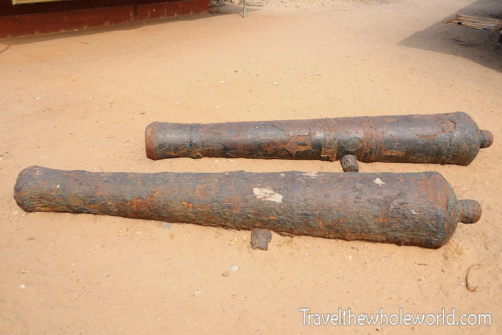Nigeria Slavery Cannons