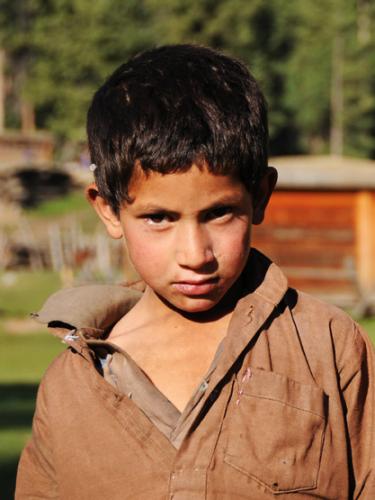 Pakistan Fairy Meadows Kids