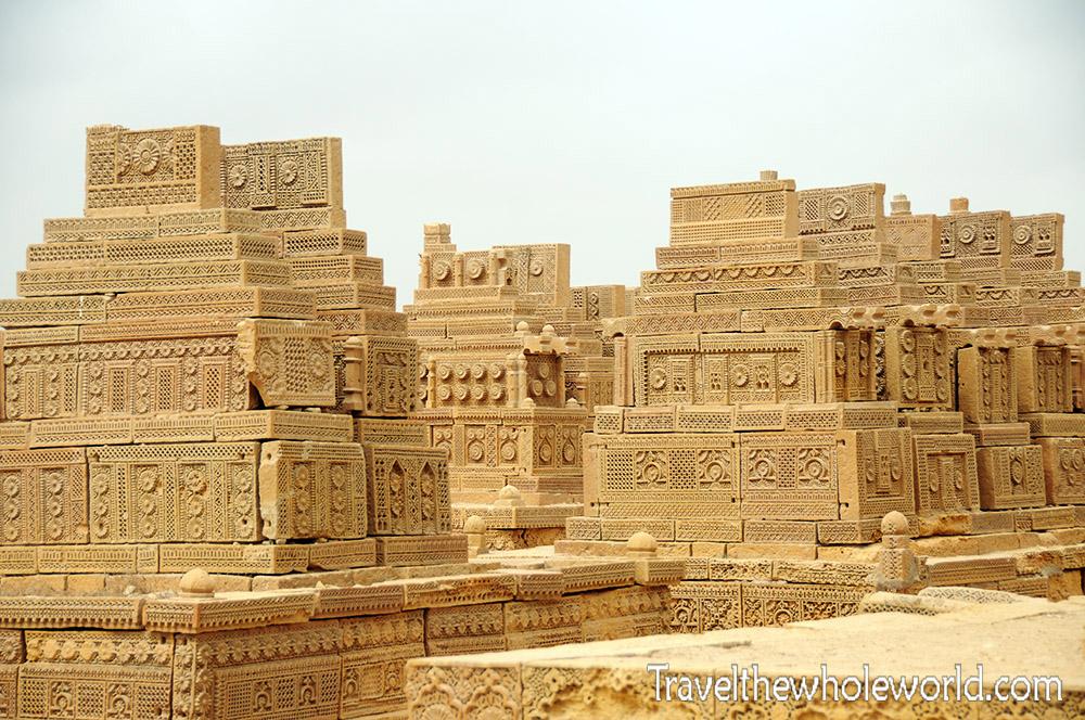Pakistan Karachi Chaukhandi Tombs