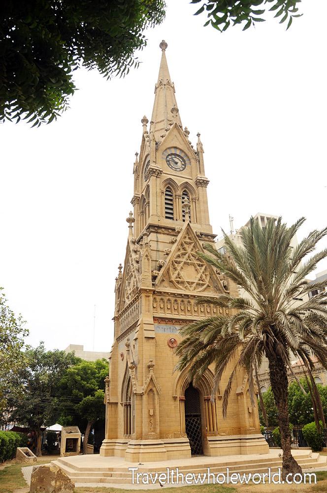 Pakistan Karachi Merewether Tower
