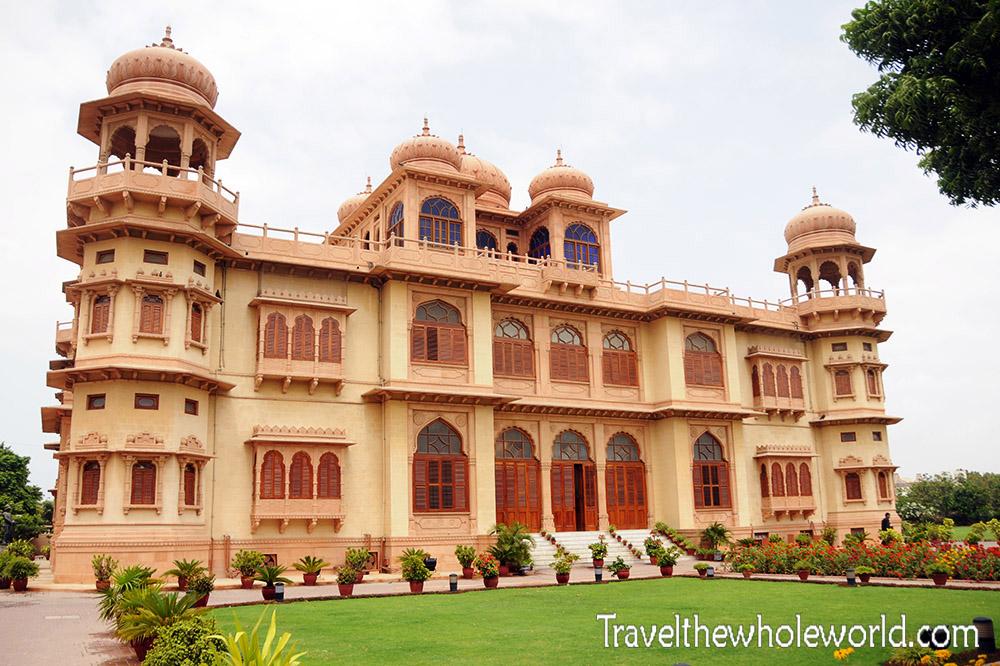 Pakistan Karachi Mohatta Palace