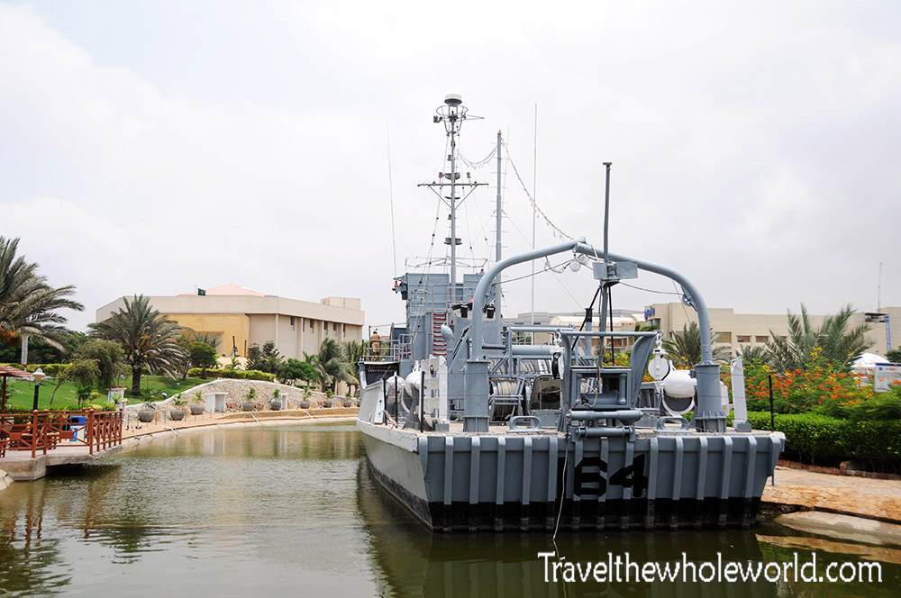 Pakistan Karachi Naval Museum Ship